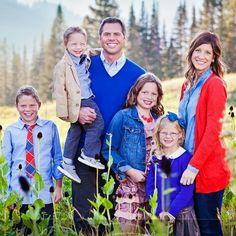 Steve Osmond, son of Wayne, his wife Anneli and 4children Aili, Paul, Elyssa, William.