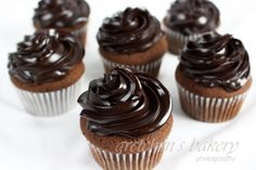 Double Chocolate Cupcakes - Gretchen's Bakery