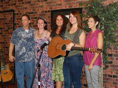 Kevin Burke, from Barrelhouse, Sam, Christine, Christine Sweeney, and Chas
