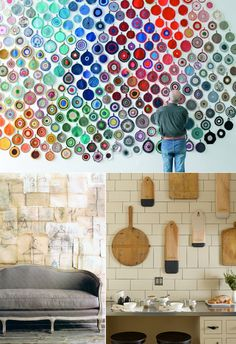Justina Blakeney: Collected Walls: An affordable Gallery for your home