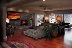 Hardwood Floors Living Room Hardwood Floors Modern Living Room Wichita Great Concept