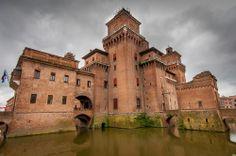 The City of Ferrara, Italy