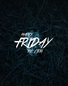 Happy Friday the 13th! Hope you have a lucky day...