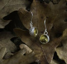 Acorn, Plating, Jewelry Making, Drop Earrings, Jewellery, Sterling Silver, Pretty, Nature, Gold