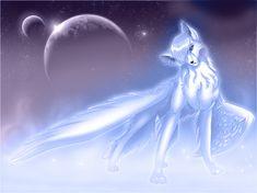 yn 2020 & Mystical Galaxy Wolf With Wings