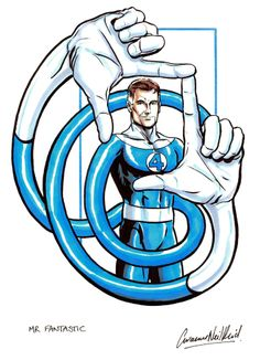 mr fantastic marvel | got no work done today because…: Mr Fantastic