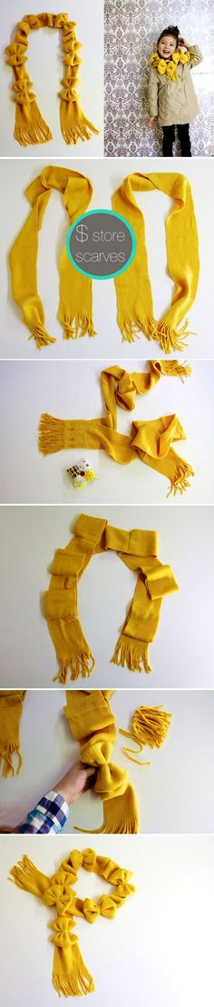 Store scarves for kids!