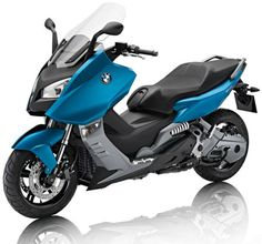BMW C600 Sport ABS (in solid black, of course)