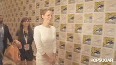 Jennifer Lawrence Meeting Other Celebrities | POPSUGAR Celebrity