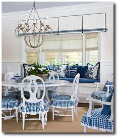 TONS of slipcover ideas....Kelley Proxmire Cording, Drapery, French Pleating, French Ticking, Ruffles, Slipcovering, Gustavian, Swedish Decorating, Rustic Furniture, Distressed Furniture, French Furniture, Swedish Furniture