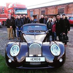 SEJOUR A LONDRES POUR UNE CLASSE DE BTS APRES-VENTE AUTO ET DECOUVERTE DES MORGAN #Morgan #GARAC #londres