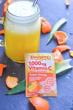 Add our Orange Pineapple Refresher Recipe using Emergen-C Super Orange to your healthy lifestyle for an extra vitamin boost during the winter season Smoothie Recipes, Smoothies, Drink Recipes, Vitamin C Drinks, Get Healthy, Healthy Recipes, Natural Flavors, Winter Season, Fun Drinks
