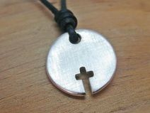 "Silberanhänger Kreuz ""Elias"" - New Ideas First Communion, Cute Baby Clothes, Kind Mode, Cross Pendant, Cute Babies, Washer Necklace, Jewelery, Silver, Crafts"