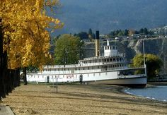 The old Sicamous in Penticton, BC. It is now a museum for all to visit and enjoy. West Coast Canada, Sonora Desert, Discover Canada, Vancouver City, Love Boat, Western Canada, Time Warp, Wonderful Picture, British Columbia