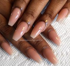 ριntєrєѕt: үαsмιη к. ღ check out my channel Trends appreciate any support❗️ Glam Nails, Dope Nails, Pink Nails, Beauty Nails, Perfect Nails, Gorgeous Nails, Pretty Nails, Garra, Best Acrylic Nails