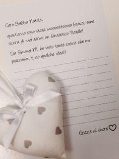 Hai già scritto a Babbo Natale?  Solo se sei stata moooltoooo brava, da Simona M. potrai scrivere la tua letterina... Sicuramente quest'anno non sbaglierà regalo!! ❤️