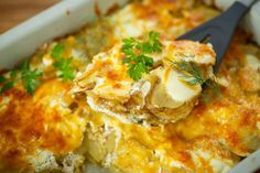 Simple Yet Delicious Side Dish: Cheese And Herb Potato Gratin