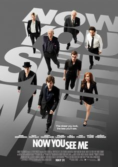 NOW YOU SEE ME Official Movie One-Sheet