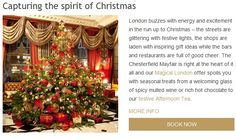 Eshot Christmas Chesterfield Mayfair Hotel