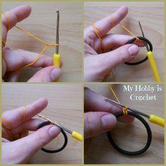 My Hobby Is Crochet: Thread Headband - Free Crochet Pattern with Tutorial | My Hobby is Crochet