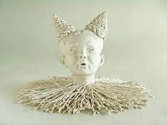 Afbeeldingsresultaat voor mariette van de ven Cross Eyed, Viera, Mary, Sculpture, Ceramics, Statue, Eyes, Ceramica, Pottery