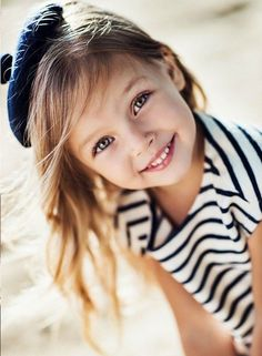 ♔ Little French girl. Children...one of life's richest blessings!