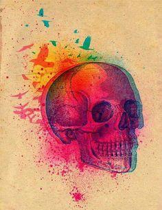 Skull Art Print ♡♥♡♥♡♥