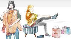 Les robes et les chaussures