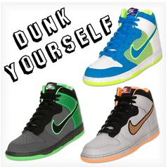 """Nike Dunk Collection"" by finishline on Polyvore"