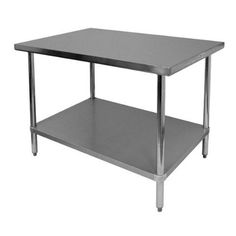 "Worktable Stainless Steel Food Prep 30"" X 36"" X 34"" Height - Commercial Grade Work Table - Good For Restaurant, Business, Warehouse, Home, Kitchen, Garage Apex http://www.amazon.com/dp/B016APUOTU/ref=cm_sw_r_pi_dp_6vPWwb014XZTA"