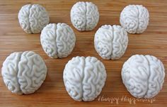 Chocolate brains are sure to delight any mad scientist... Just use colored chocolate wafers and the chocolate brain mold found on amazon for just $6!