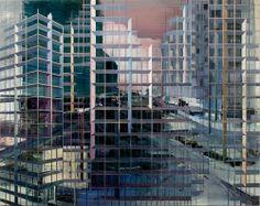 Artist painter Driss Ouadahi