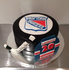 New York Rangers Cake