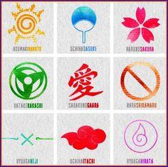 symbols of characters