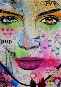 """Saatchi Art Artist: Loui Jover; Ink 2013 Drawing """"zeitgeist pop"""""""