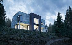 Visuals | Ox | Prefab housing series on Behance