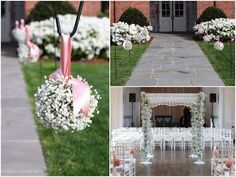 at home wedding decoration ideas rustic railing at http