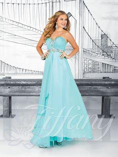597a0761ee0f 2014 New Style Tiffany Prom Dresses 16012 Pretty Prom Dresses, Prom Dress  2013, Prom