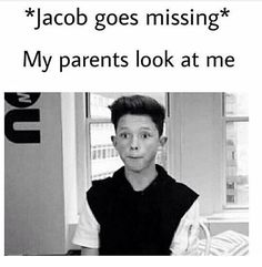 Lol! My parents don't know anything about Jacob!!! I HAVE A BIG CRUSH ON HIM THOUGH