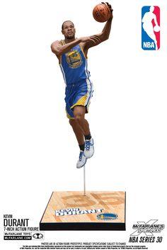 Kevin Durant (Golden State Warriors) NBA 30 McFarlane