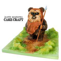 Ewok cake - Ewok cake