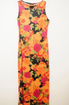 Vintage Beautiful 80s/90s Colorful Floral by LipstickDinosaur, $31.00