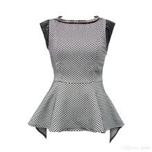 Jasi  Co JSDJ2294 Jacquard Cap Sleeve Embellished Beading Neckline Sexy Casual Top With Invisible Zip at Side(China (Mainland)) visit http://www.jasiandco.com/
