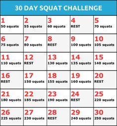30 Day Squat Challenge - Somastruct