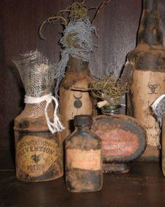 Cool potion bottles...