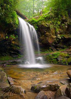 Grotto Falls, Great Smoky Mountains, TN.