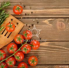 Tomatoes and rosemary