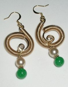 TUTORIAL Irish Celtic Wire Wrapped Earrings