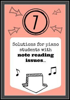 Great ideas for helping kids with note reading from TeachPianoToday.