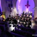 Konzert der Bigband der Musikschule Bergneustadt in unserer Kirche, Dezember 2013.